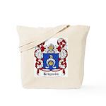 Krzywda Coat of Arms Tote Bag