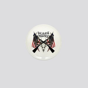 Black powder buck Mini Button