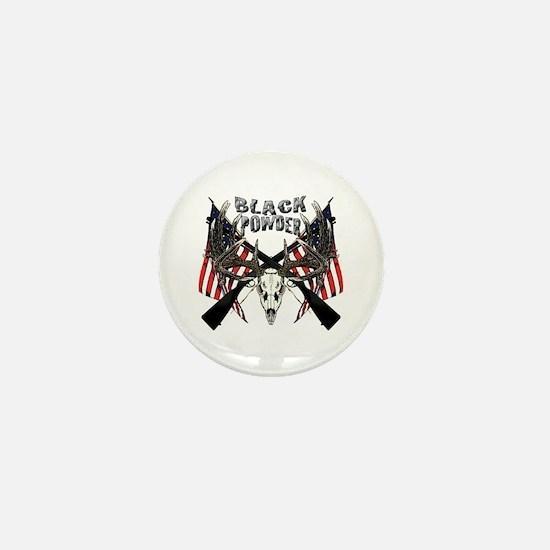 Black powder buck Mini Button