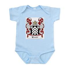 Kruzer Coat of Arms Infant Creeper