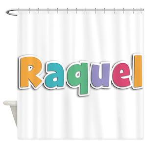 Female Name Raquel Shower Curtains Cafepress