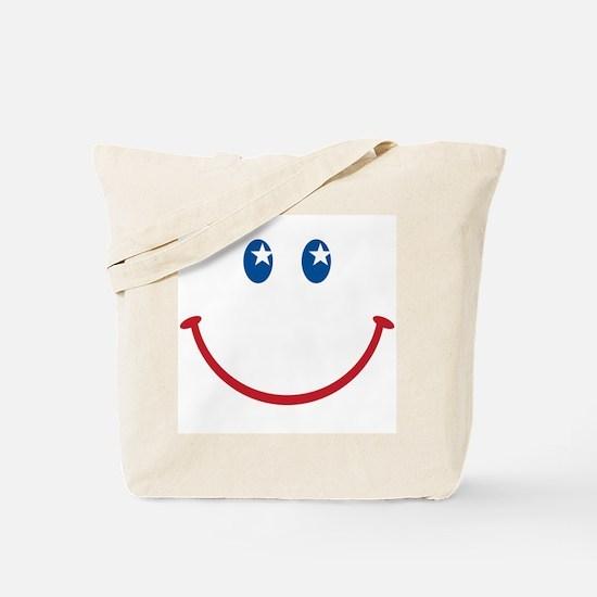 Smiley Face USA: Tote Bag