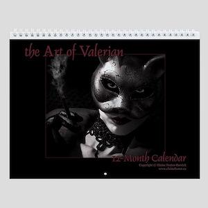 Art of Valerian Horizontal Wall Calendar