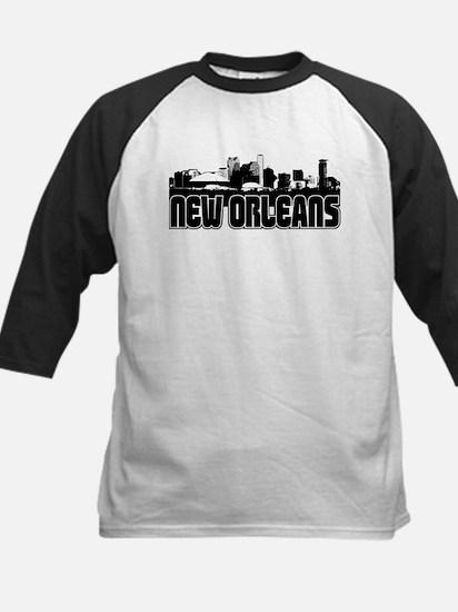 New Orleans Skyline Kids Baseball Jersey