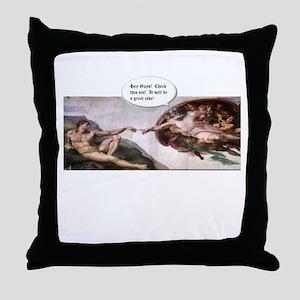 Great Joke Throw Pillow