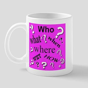 Primary Questions Mug