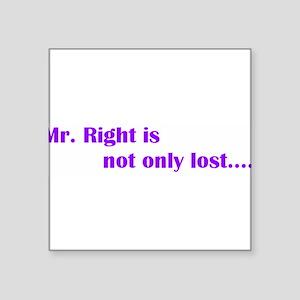 """mrright Square Sticker 3"""" x 3"""""""