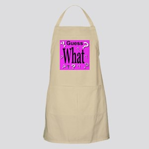 Guess What? BBQ Apron