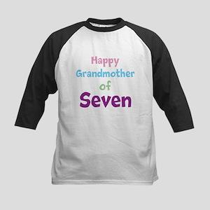 Personalized Grandmother Kids Baseball Jersey