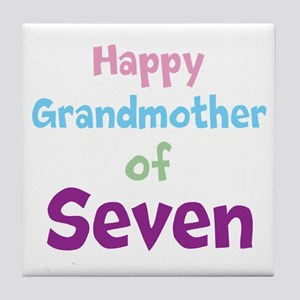 Personalized Grandmother Tile Coaster