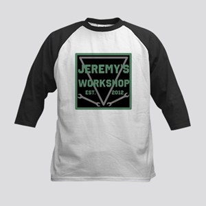 Personalized Workshop Kids Baseball Jersey