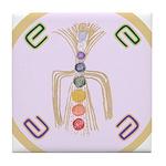 Chakra Opening Balancing v3 Tile Coaster