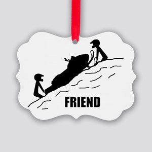 Friend / Best Friend Picture Ornament