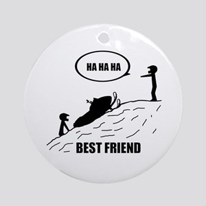 Best Friend Ornament (Round)