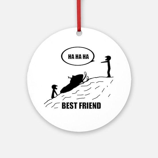 Best Friend Ornament (Round)