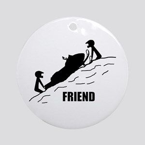 Friend Ornament (Round)