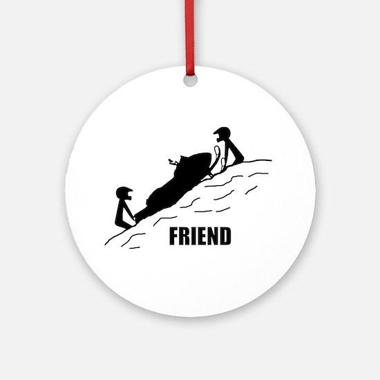 Friend Ornament (Round)