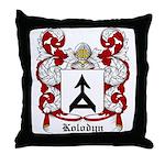 Kolodyn Coat of Arms Throw Pillow