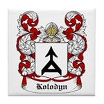 Kolodyn Coat of Arms Tile Coaster
