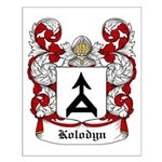 Kolodyn Coat of Arms Small Poster
