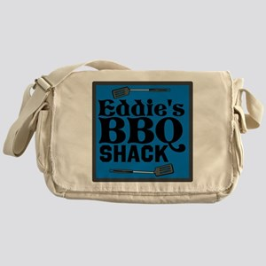 Personalized BBQ Messenger Bag