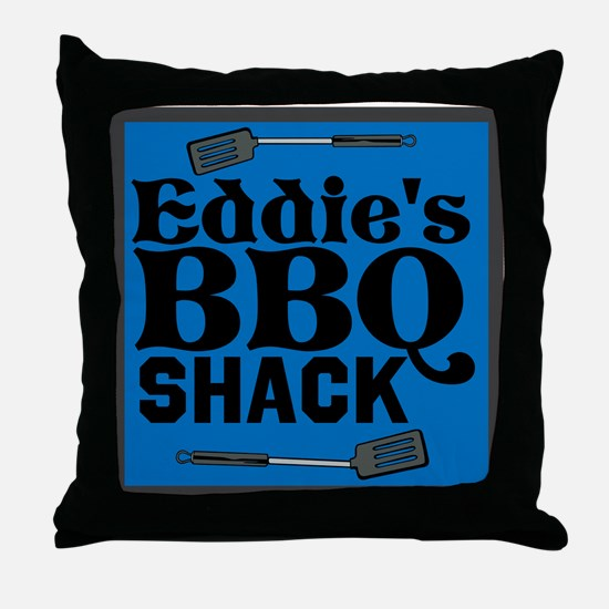 Personalized BBQ Throw Pillow
