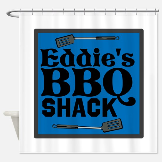 Personalized BBQ Shower Curtain