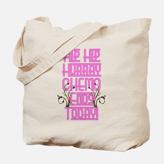 Cancer Chemo Over Tote Bag