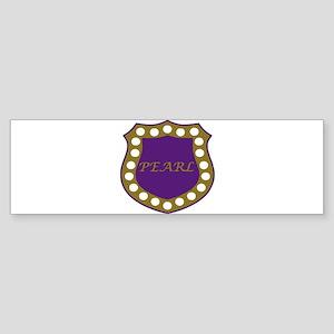 Omega Pearl Shield Sticker (Bumper)
