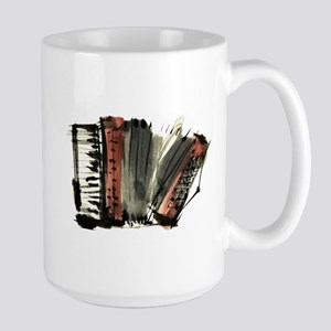 accordion Large Mug