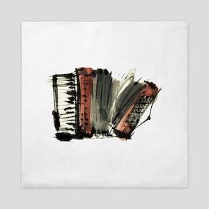 accordion Queen Duvet