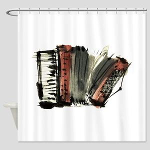 accordion Shower Curtain
