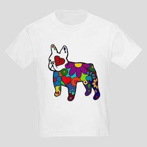 Frenchie Power Kids Light T-Shirt