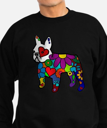 Frenchie Power Sweatshirt (dark)
