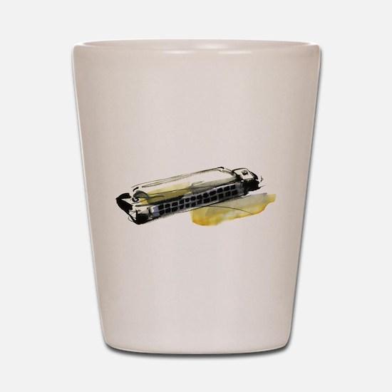 harmonica Shot Glass