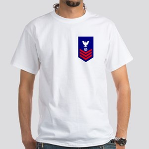 Quartermaster First Class<BR> White T-Shirt