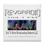 Revoradio 104.1 Fm Tile Coaster