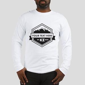 Kappa Sigma Mountain Ribbon Pe Long Sleeve T-Shirt