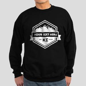 Kappa Sigma Mountain Ribbon Pers Sweatshirt (dark)