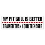My Pit Bull Bumper Sticker