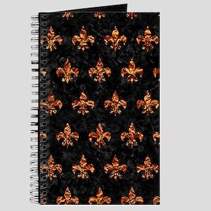 ROYAL1 BLACK MARBLE & COPPER FOIL (R) Journal