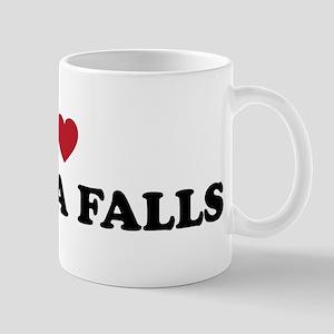 I Love Wichita Falls Kansas Mug
