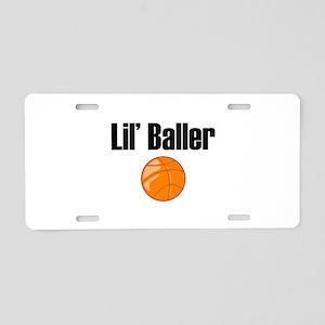 Lil' Baller Aluminum License Plate