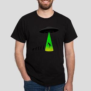 Alien Abduction Dark T-Shirt