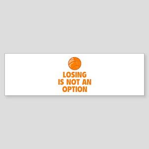 Losing is not an option Sticker (Bumper)