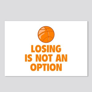 Losing is not an option Postcards (Package of 8)