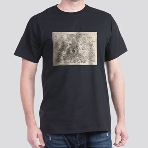 Vintage Map of Vienna Austria (1906) T-Shirt
