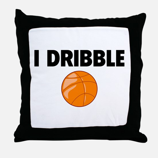 I Dribble Throw Pillow