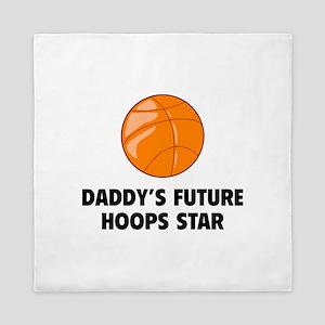 Daddy's Future Hoops Star Queen Duvet