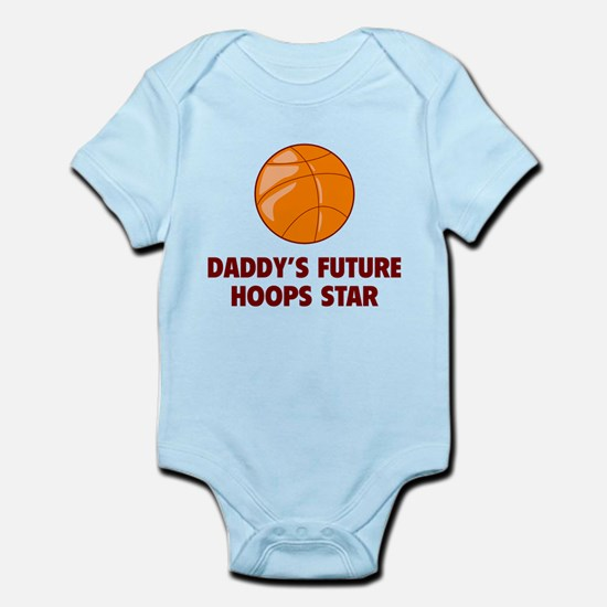 Daddy's Future Hoops Star Infant Bodysuit